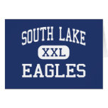 South Lake - Eagles - High - Groveland Florida Greeting Cards