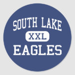 South Lake - Eagles - High - Groveland Florida Round Stickers
