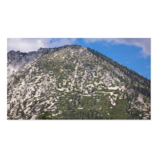 South Lake Tahoe Cascade Mountain Business Card