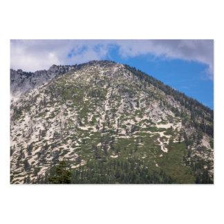 South Lake Tahoe Cascade Mountain Large Business Card