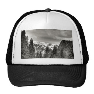 South Lake Tahoe Trees And Mountains Trucker Hat