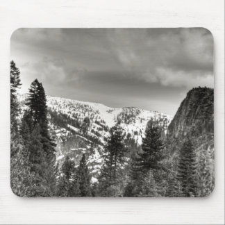 South Lake Tahoe Trees And Mountains Mouse Pad