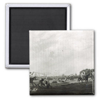 South Matadero  engraved by Maile and 2 Inch Square Magnet