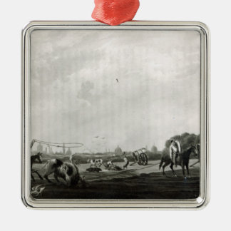 South Matadero  engraved by Maile and Metal Ornament