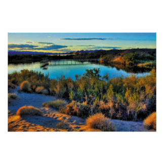 South Mesquite Bay Poster