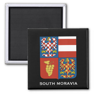 South Moravia Czech Republic Magnet