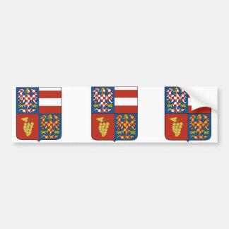 South Moravian Region Czech Bumper Sticker