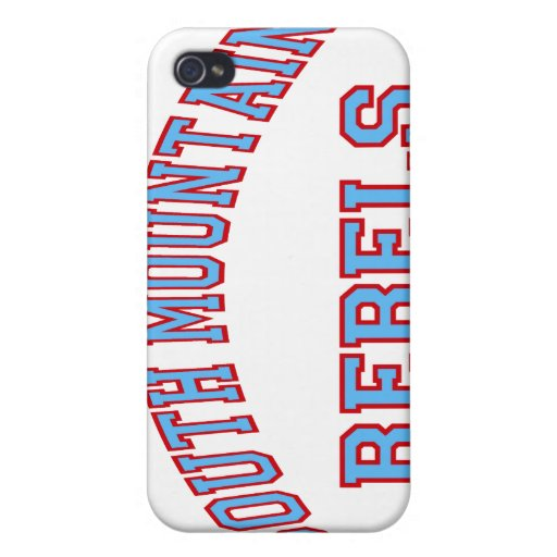 South Mountain Rebels iPhone 4 Cover