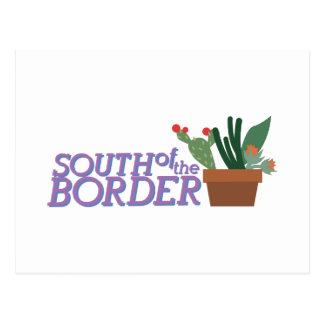 South Of Border Postcard