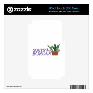 South Of Border Skin For iPod Touch 4G