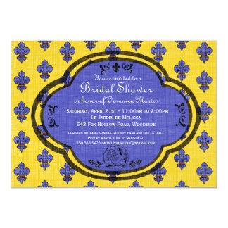 South of France Provencal Bridal Shower Invite