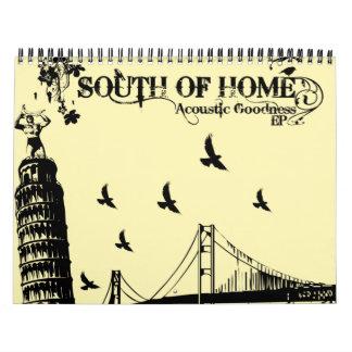 South Of Home Calendar