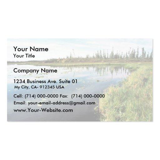 South of Hozatka Lake Business Card Templates