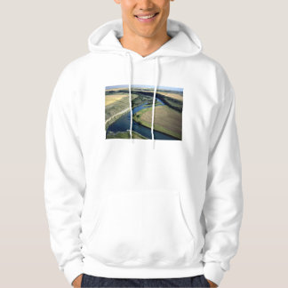 South of Indus, Bow River, Alberta, Canada Hoodies