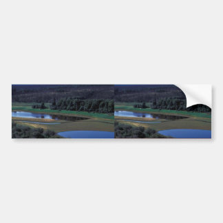 South of North Hather Creek and Innoko River Car Bumper Sticker