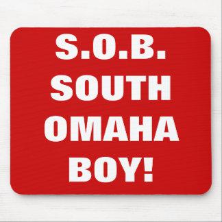 SOUTH OMAHA BOY MOUSEPAD