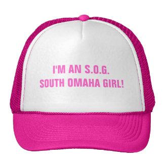 SOUTH OMAHA GIRL MESH HATS