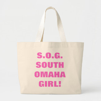 SOUTH OMAHA GIRL TOTE BAG