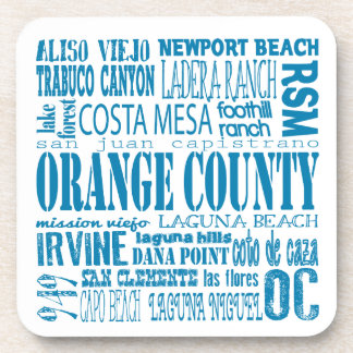 South Orange County 949 Coaster Set