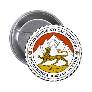 South Ossetia Coat of Arms Pinback Button