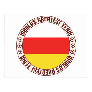 South Ossetia Greatest Team Postcard