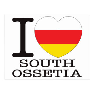 South Ossetia Love v2 Postcard