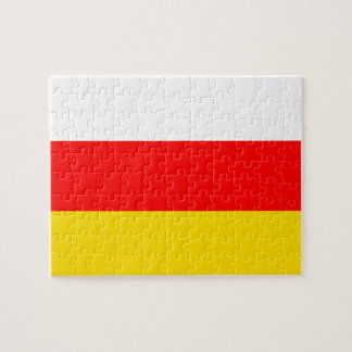 South Ossetia National World Flag Jigsaw Puzzle