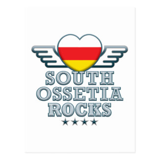 South Ossetia Rocks v2 Postcard
