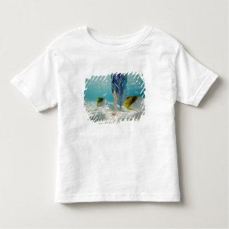 South Pacific, Bora Bora, female tourist walking 2 T-shirt