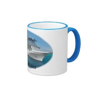 South Pacific Cruise Coffee Mugs