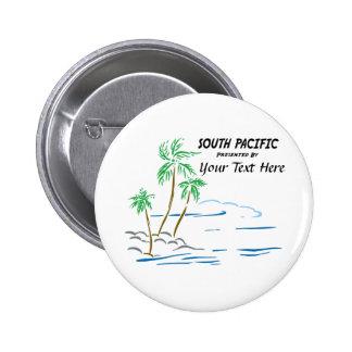 South Pacific, el Musical Pin Redondo De 2 Pulgadas