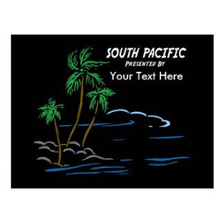 South Pacific el Musical Postales