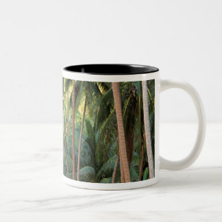 South Pacific, French Polynesia, Bora Bora. Two-Tone Coffee Mug