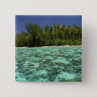 South Pacific, French Polynesia, Moorea 3 Pinback Button
