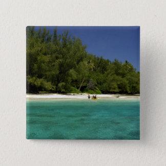 South Pacific, French Polynesia, Moorea Button
