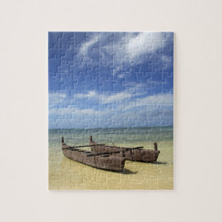 South Pacific, French Polynesia, Moorea. Jigsaw Puzzle
