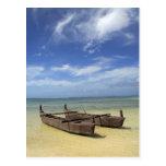 South Pacific, French Polynesia, Moorea. Postcard