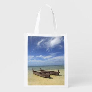 South Pacific, French Polynesia, Moorea. Reusable Grocery Bag