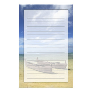 South Pacific, French Polynesia, Moorea. Stationery