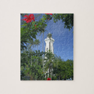 South Pacific, French Polynesia,Tahiti. Hibiscus 2 Puzzle