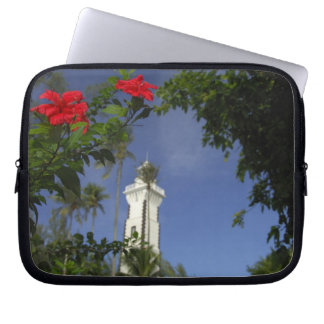 South Pacific, French Polynesia,Tahiti. Hibiscus 3 Computer Sleeve