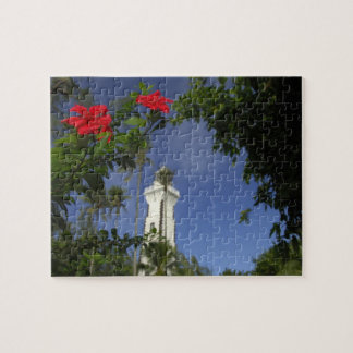 South Pacific, French Polynesia,Tahiti. Hibiscus 3 Jigsaw Puzzle