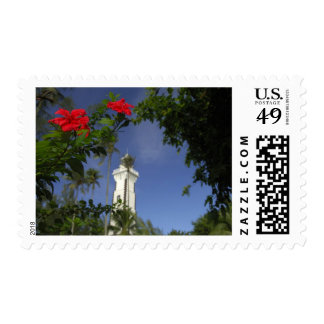 South Pacific, French Polynesia,Tahiti. Hibiscus 3 Postage