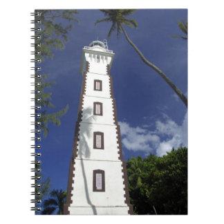 South Pacific, French Polynesia,Tahiti. Venus Spiral Notebook