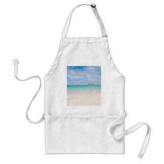 South Pacific - Lanikai Hawaii Adult Apron