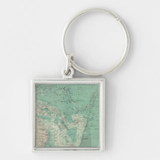 South Pacific Ocean Keychain