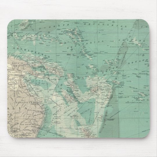 South Pacific Ocean Mouse Pad
