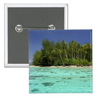 South Pacific, Polinesia francesa, Moorea 2 Pin Cuadrado