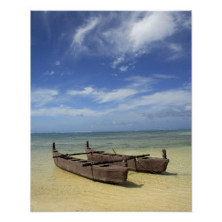 South Pacific, Polinesia francesa, Moorea. Póster