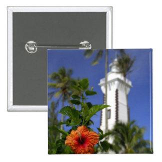 South Pacific, Polinesia francesa, Tahití. Hibisco Pin Cuadrado